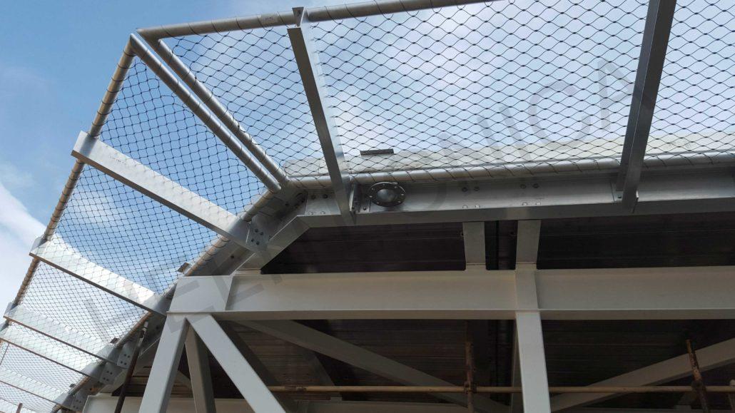 Perimeter Safety Net I Helitecnica Aluminum Helipads