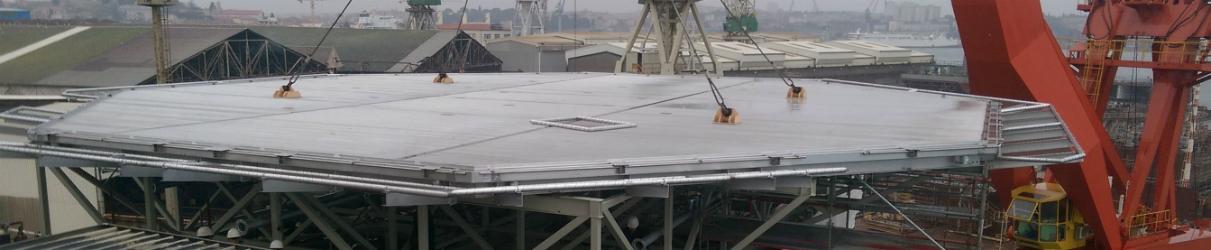 aluminium helideck, heliports design and heliport equipment